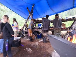 rainbow gathering kitchin